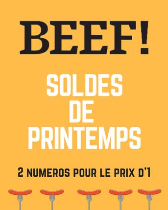 BEEF SOLDES